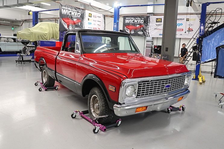 1972 Chevy C10 Week To Wicked Day 1 Cpp Springs Brakes