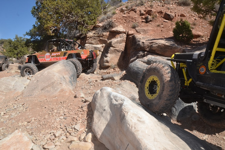 Heldorado Trail report 50th EJS in Moab - Day 2