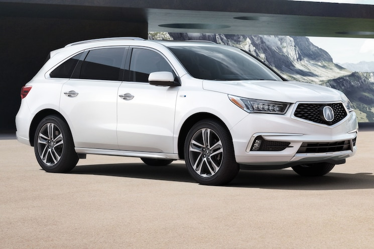 2017 Acura MDX Front Side View