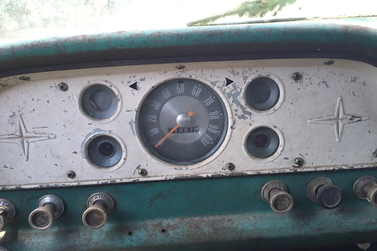 020 1960 Ford F 100 Caterpillar Diesel Engine Swap Rat Rod Pickup Original Dash Gauges