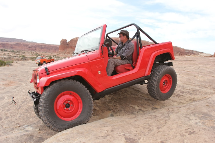 Nimble CJ-5-Inspired Jeep Shortcut At Moab EJS 2016 Day 3: Exclusive photos, video, opinions