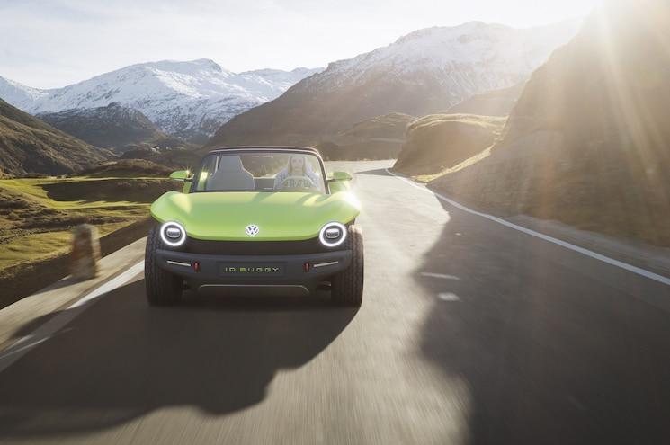 2019 Volkswagen Id Buggy Concept Exterior Front View