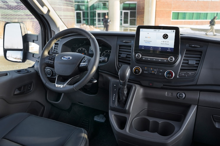 2020 Ford Transit 350 Wagon Interior Front Dashboard