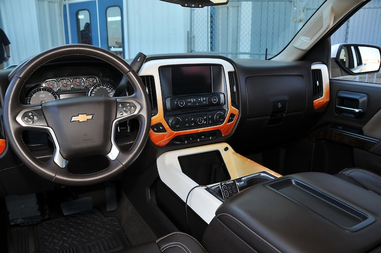 2014 Chevy Silverado 1500 Hurt Feelings Interior