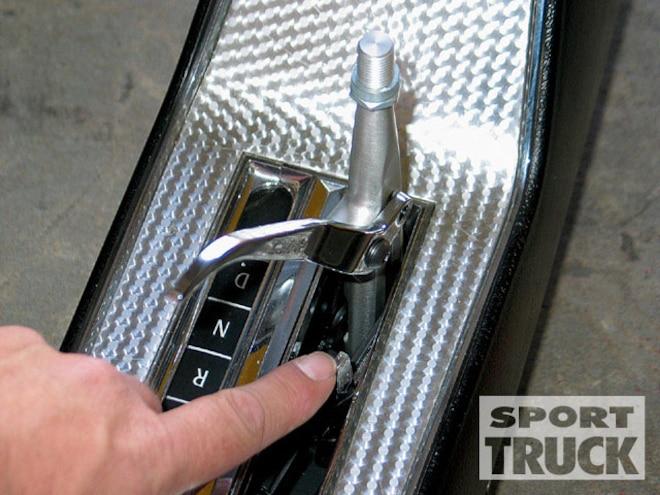 Hurst's Quarter Stick Shifter - Console and Floor Shifter - Install