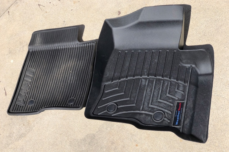 WeatherTech Floor Liners And Sun Shades 002