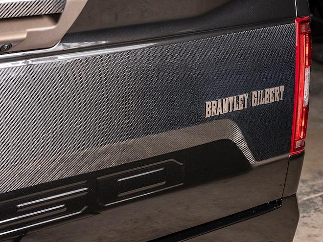 Brantley Gilbert Ford F 150 SpeedKore SEMA 2018
