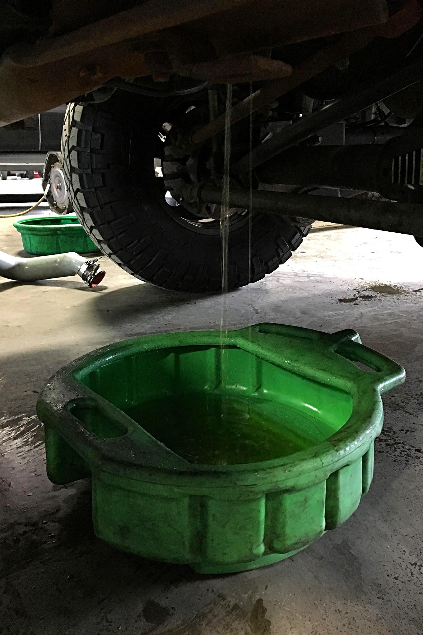XDP 6 0L Power Stroke Engine Oil Cooler Flush Kit Install