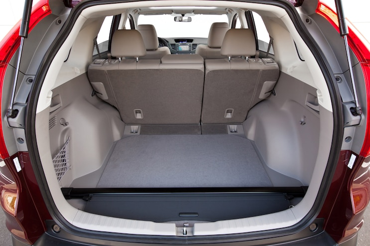 Pre Owned 2012 Honda Cr V Trunk Seats Up