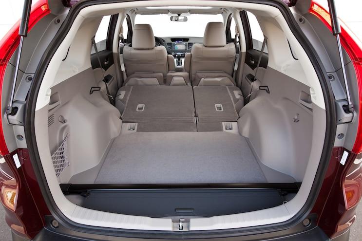 Pre Owned 2012 Honda Cr V Cargo Area Rear Seats Down
