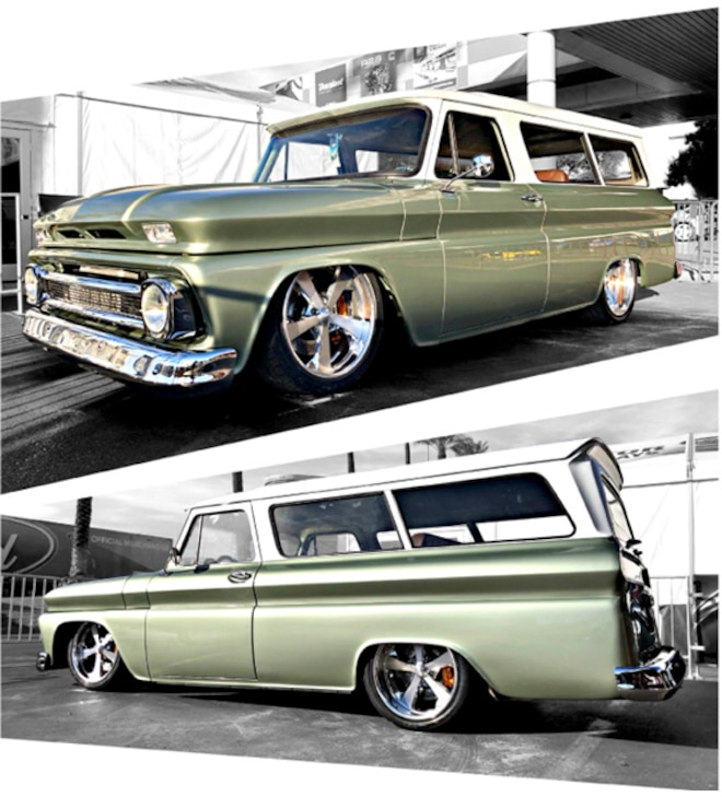 1963 Chevy Suburban Baer SEMA 2018