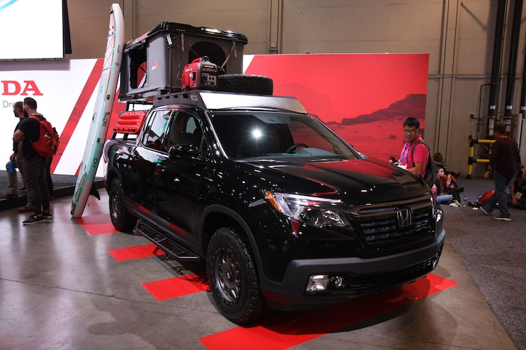 Sema 2018 Honda Ridgeline Adventure Lifestyle Project