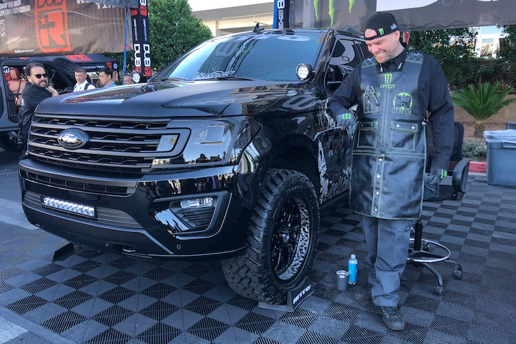 Hank Robinson 2018 Ford Expedition Its Fun Sema 2018