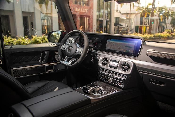 2019 Mercedes Benz G Class First Drive Interior