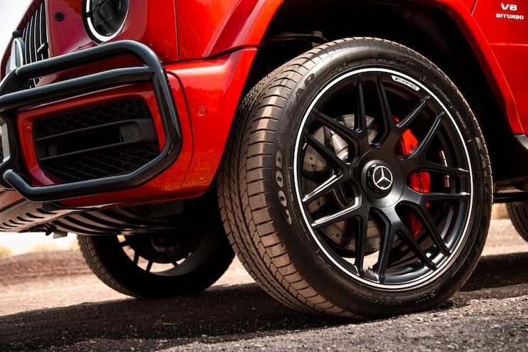 2019 Mercedes Benz G Class First Drive Wheel