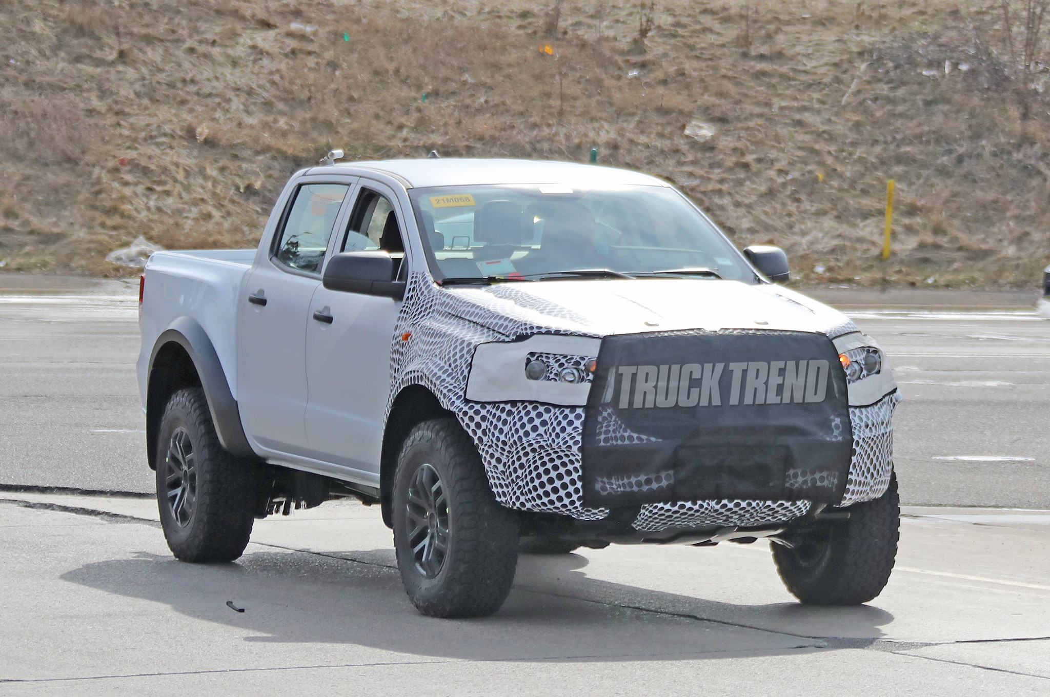Spied 2021 Ford Bronco And 2022 Ranger Raptor Mule