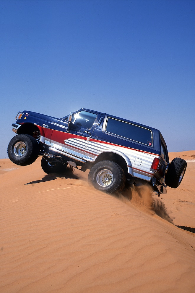 023 1988 Ford Bronco Jump Dunes