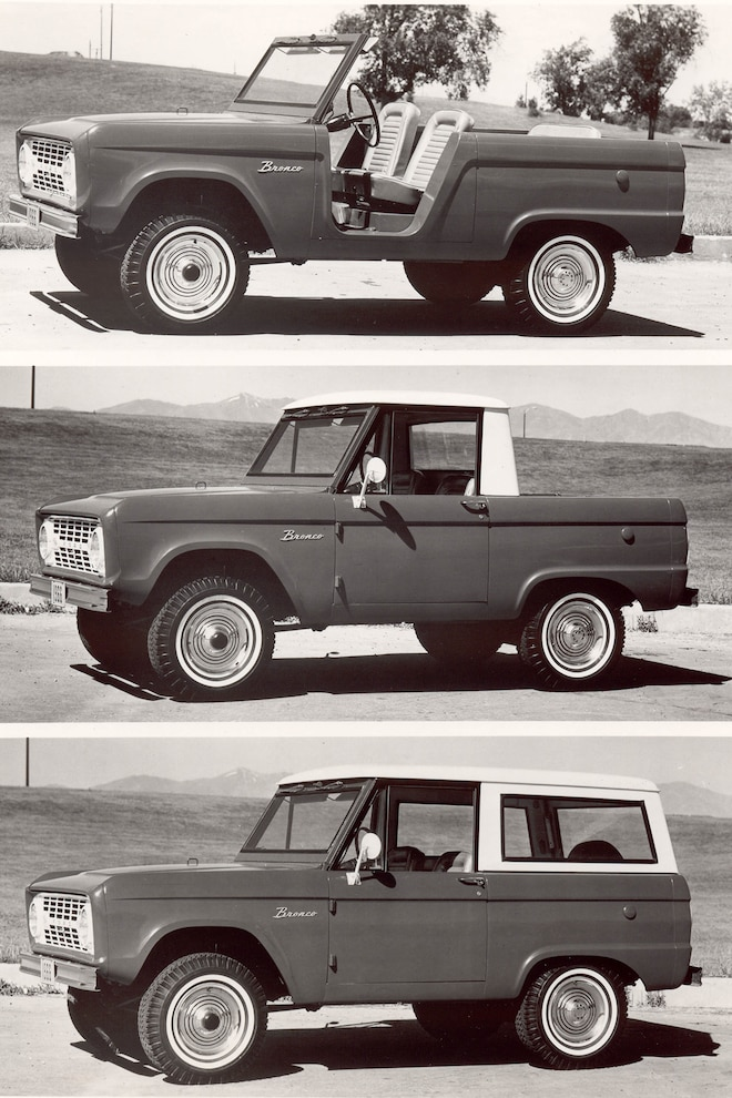 010 1966 Bronco Ford Archive