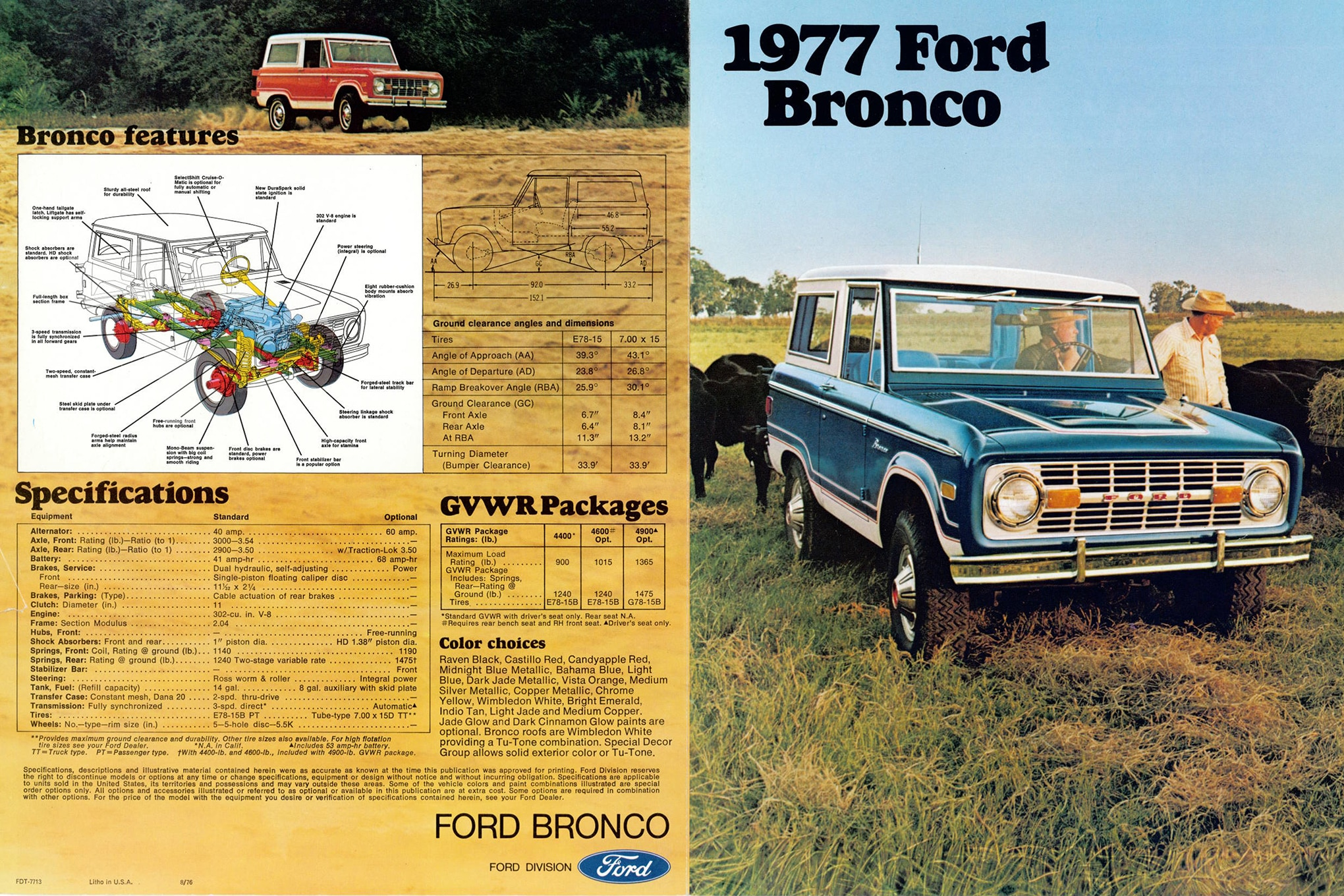 Mint! 1988 Ford Heavy and Light Truck Parts and Accessories Brochure