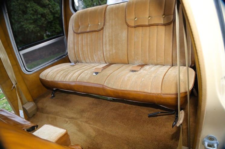 1981 Toyota Pickup Dualie Rear Seat