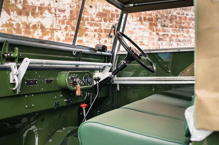 1948 Land Rover Series I Reborn Dashboard