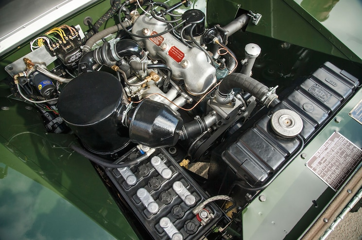 1948 Land Rover Series I Reborn Engine Bay