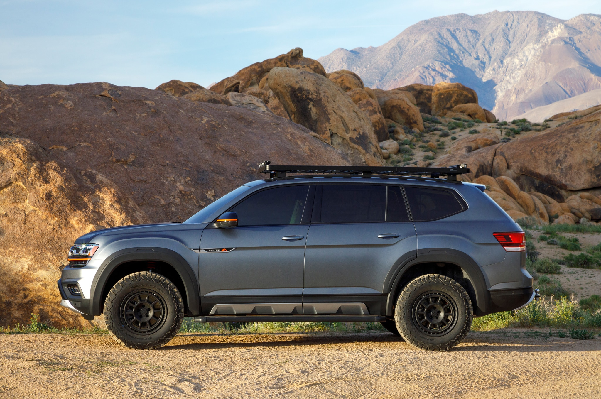 Lifted Volkswagen Atlas Basecamp Adds Some Trail Capability