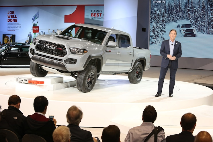 002 2017 Tacoma TRD Pro Reveal Bill Fey Interview