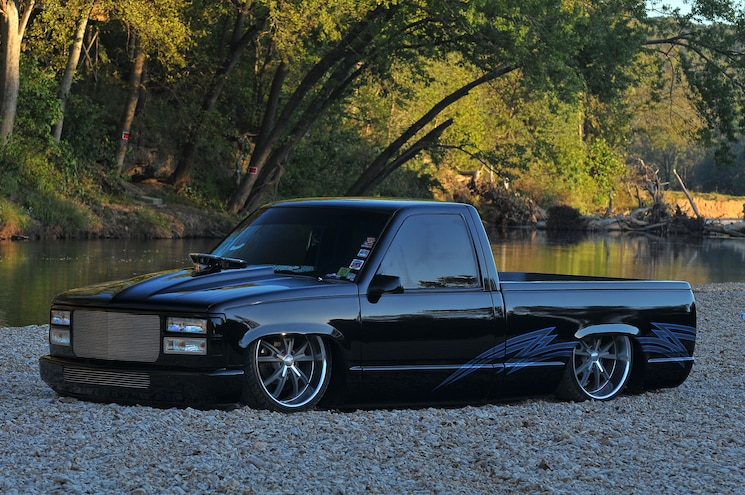1995 GMC Sierra- Black Night