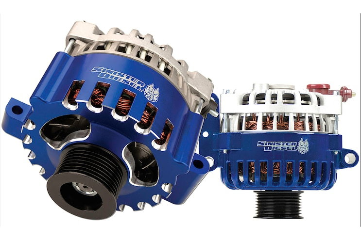 013 High Output Alternators Sinister Diesel Ho Alternator