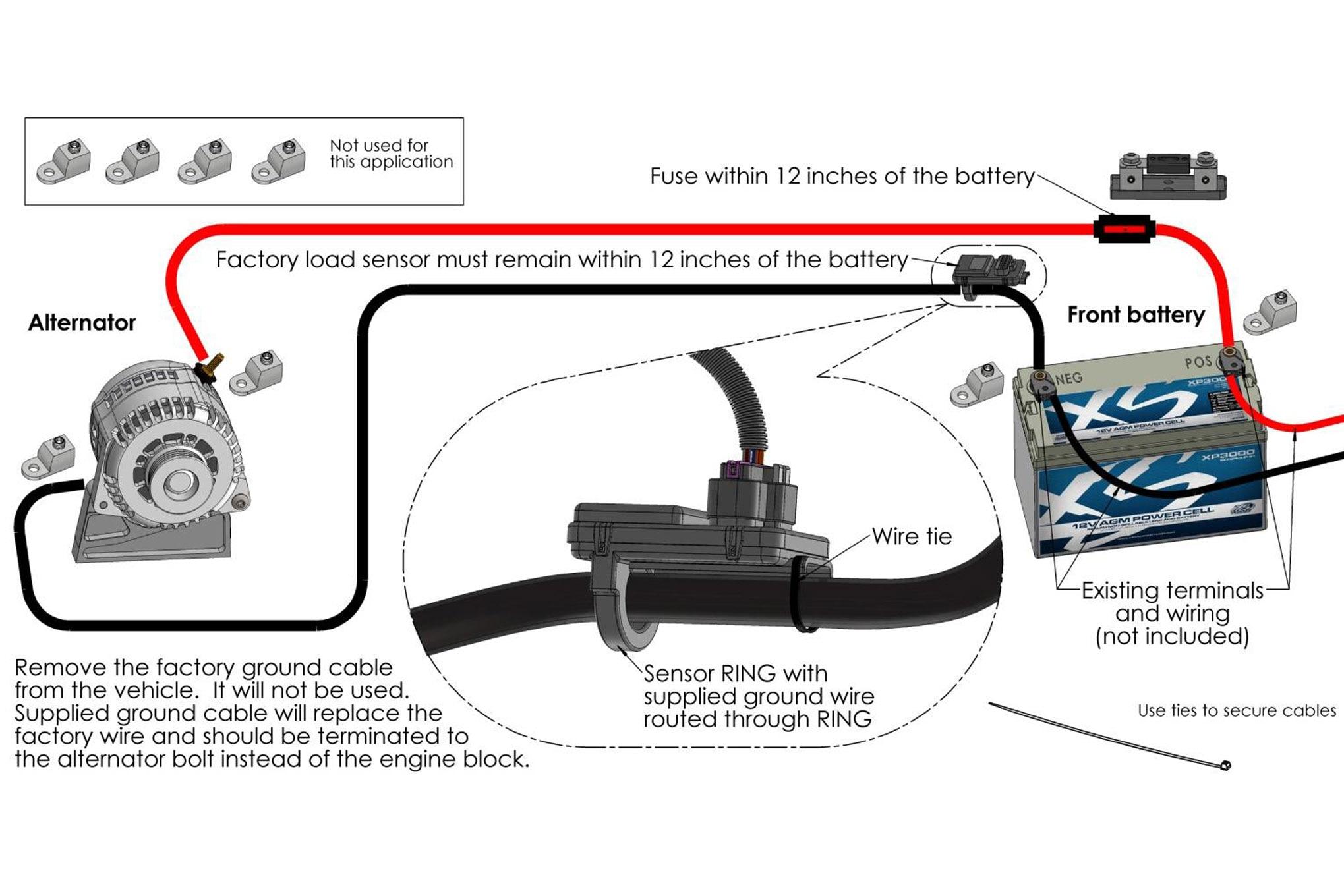 One Wire Alternator Wiring Diagram On Elect Diagram 1986 Corvette