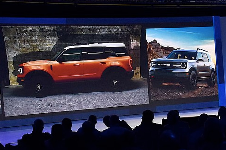 2020 Ford Baby Bronco Closeup