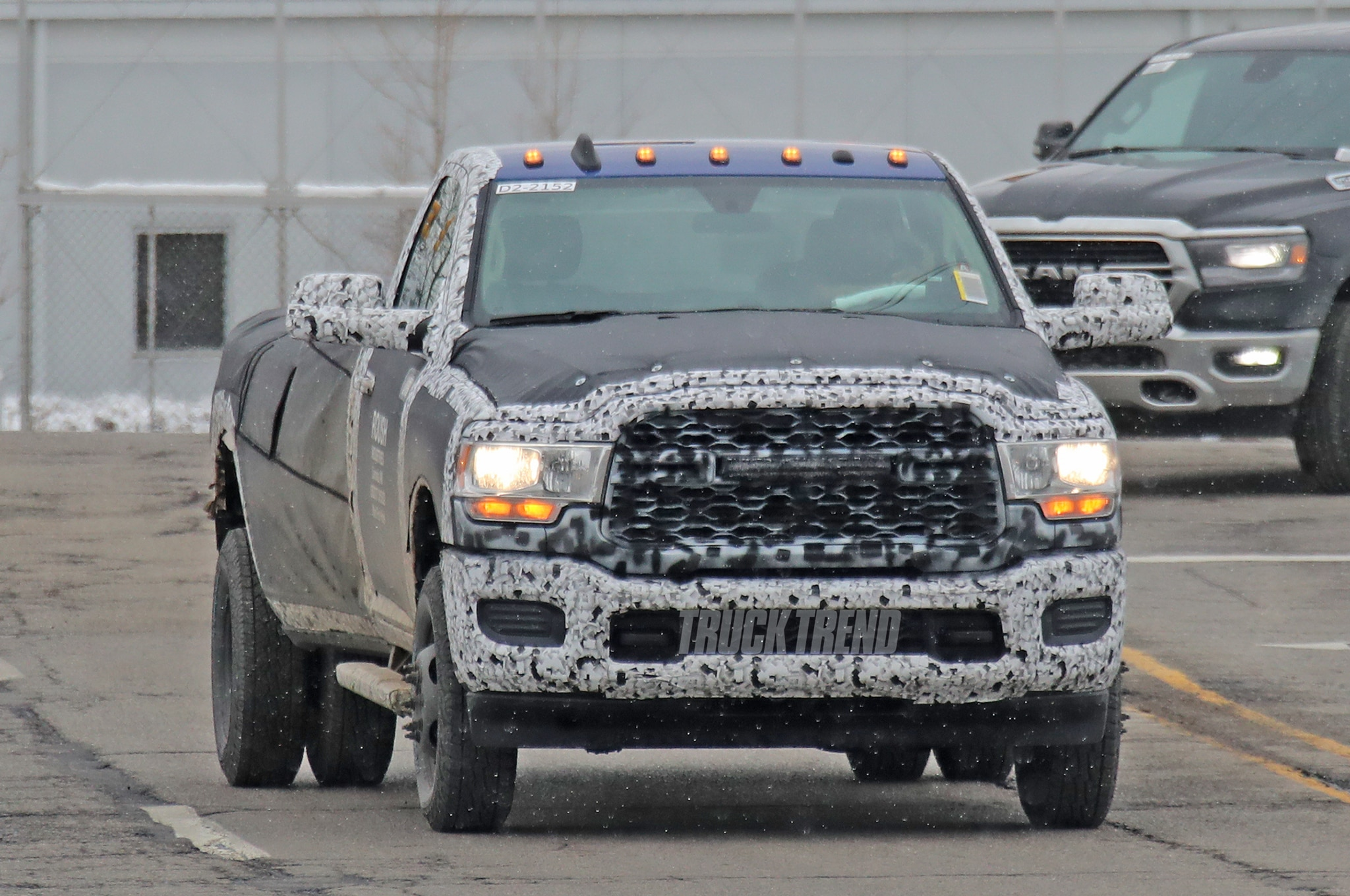Spied 2020 Ram 2500 3500 Heavy Duty In Three Trims And Bodies