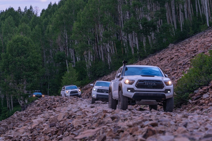 2019 TRDPro Family Drive Off Road