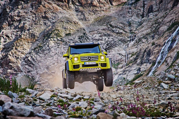 Is the Mercedes-Benz G500 4x4² Coming to America?