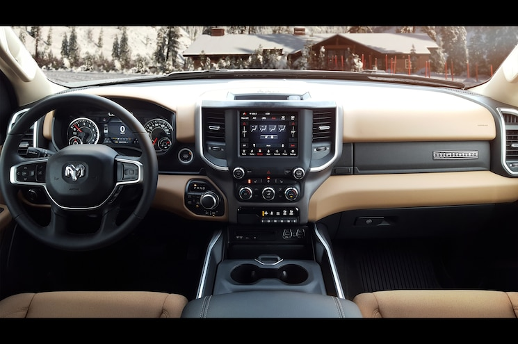2019 Ram 1500 North Edition Interior Dashboard