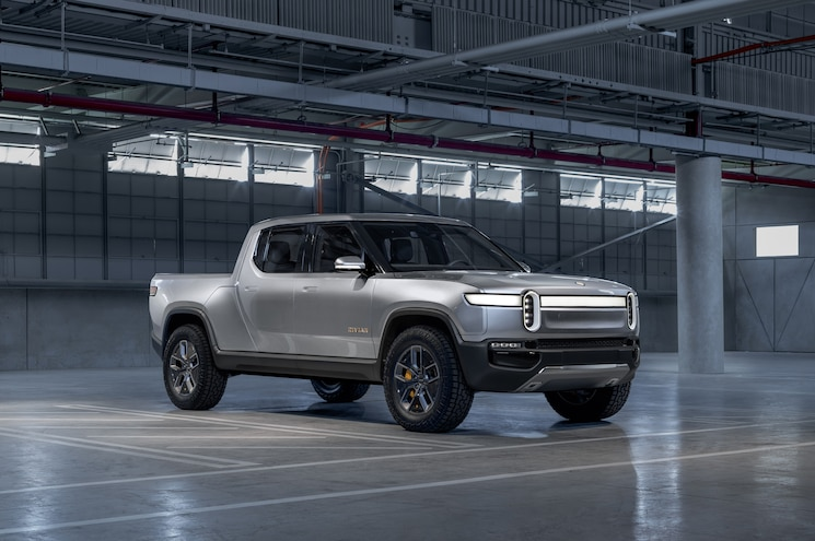 Rivian Reveals All-Electric R1T Concept Pickup Before 2018 Los Angeles Auto Show