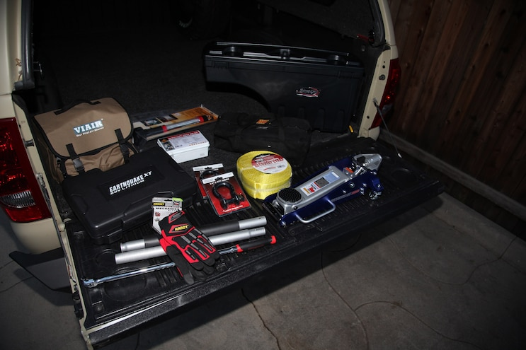 2003 Chevy Silverado: Project Over/Under: Part 10- Storage Solutions & Bare Necessities