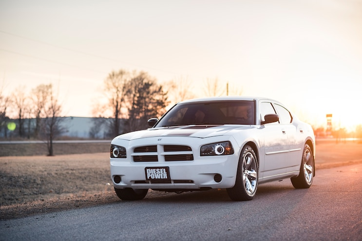 012 2006 Dodge Charger Sunset