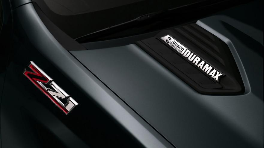 Chevrolet 2020 Silverado HD Duramax Hood