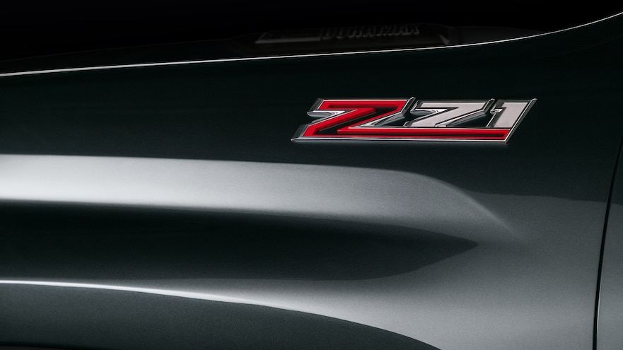 Chevrolet 2020 Silverado Z71 HD Badge