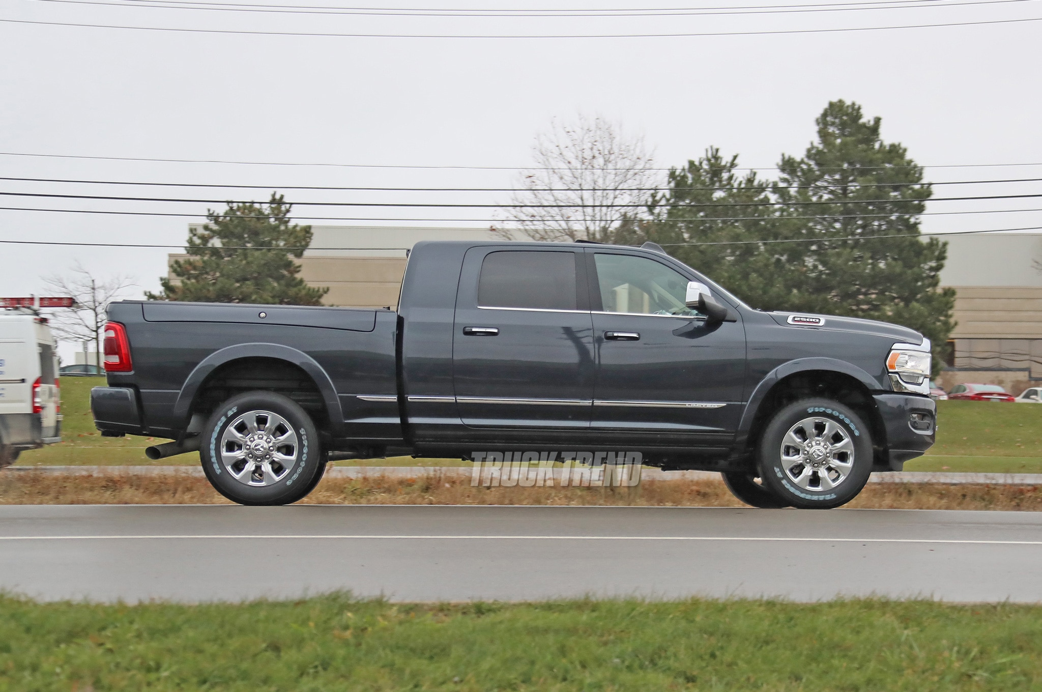 2020 Ram 2500 Heavy Duty Limited Mega Cab Side Profile