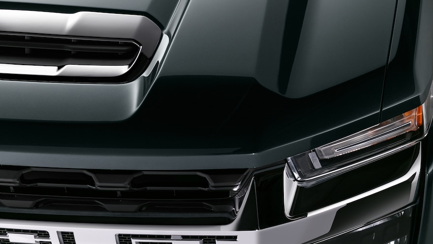 HD Chevrolet 2020 Silverado Hood Left