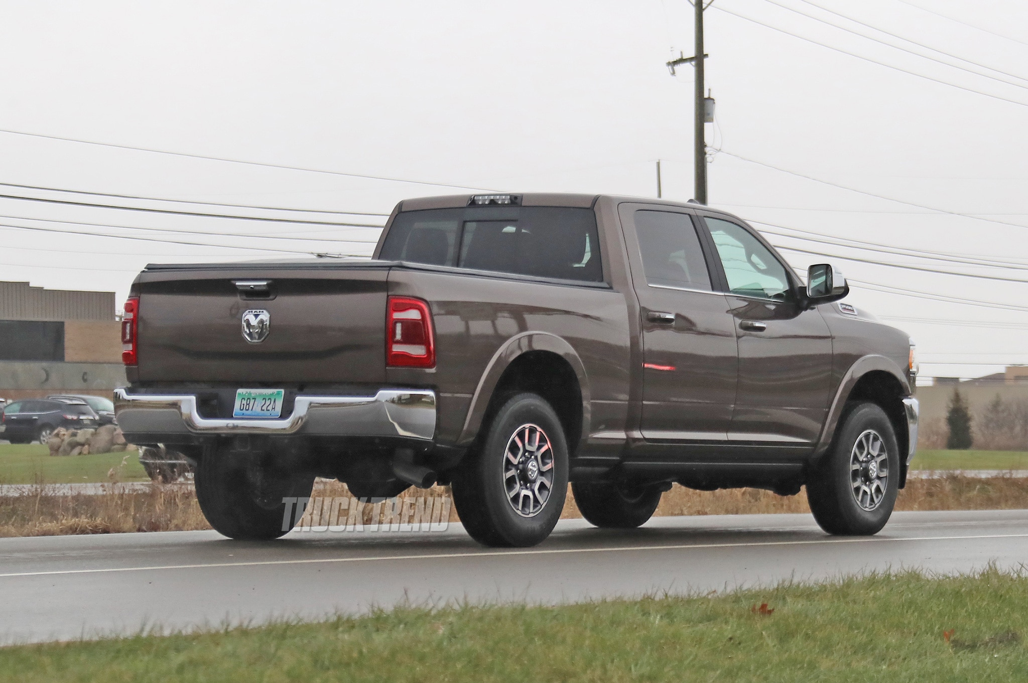 Spied 2020 Ram Heavy Duty Completely Uncovered