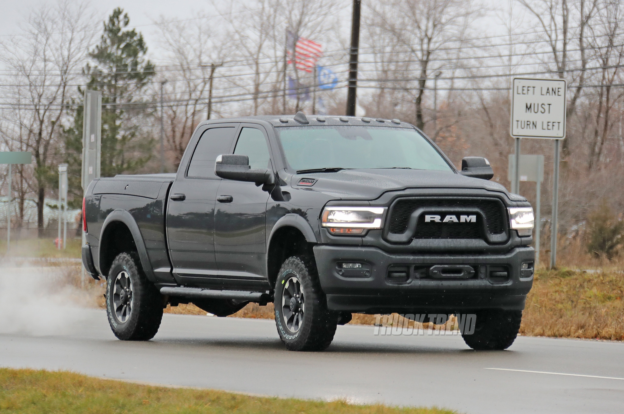 2020 Ram 2500 Heavy Duty Power Wagon Front Quarter 01