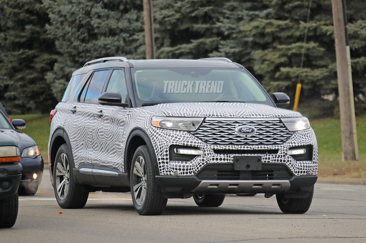 SPIED: 2020 Ford Explorer With Minimal Camouflage