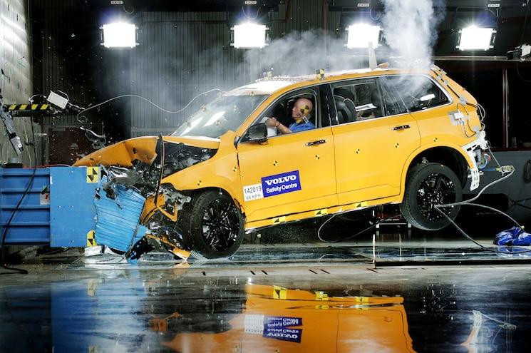 Shop Class Pickup Truck Crash Safety Devices Crash Test