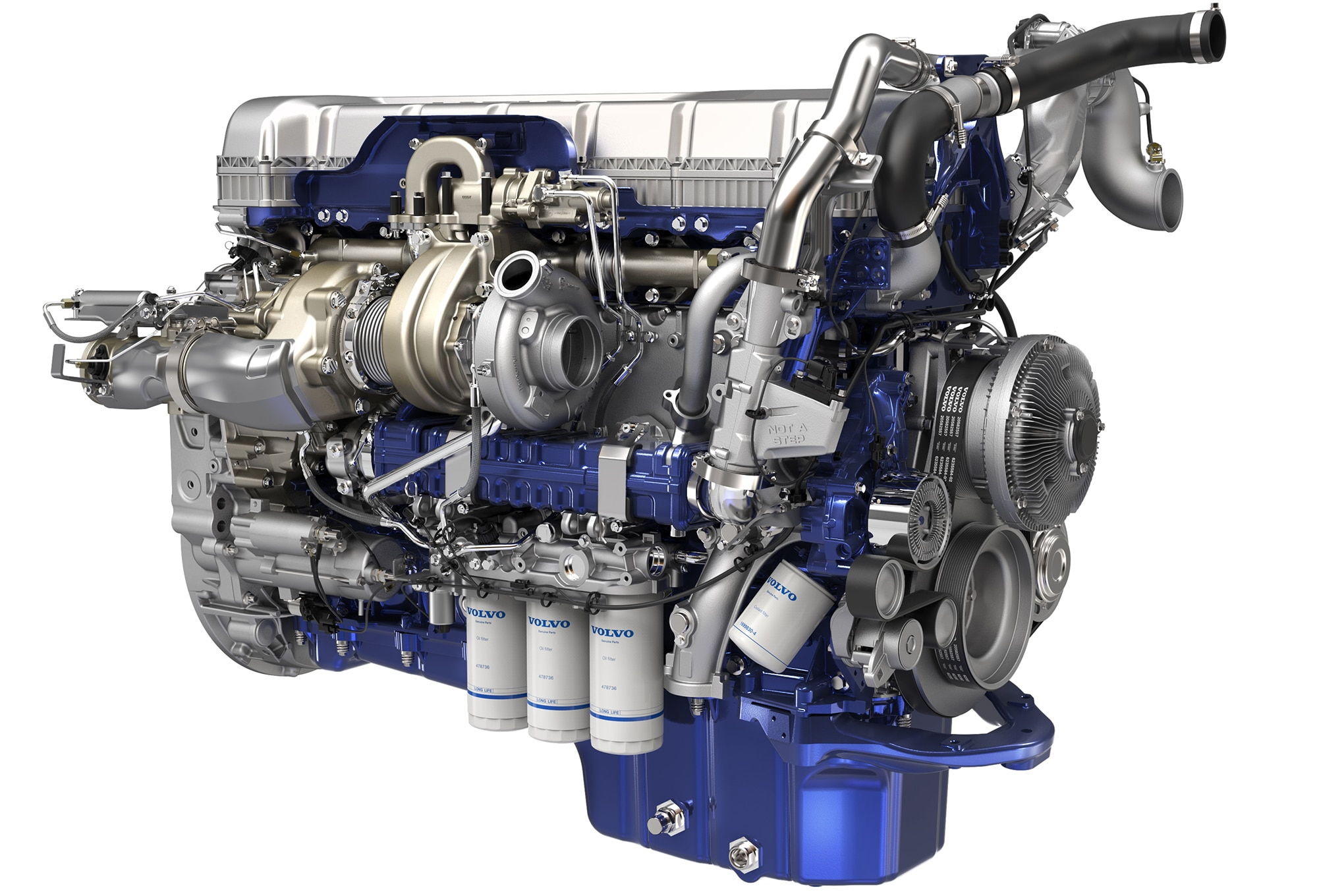 [DIAGRAM_38ZD]  The new Volvo D13 With Turbo Compounding Pushes Technology and Efficiency  in Trucking | Volvo Semi Truck Engine Diagram |  | Truck Trend