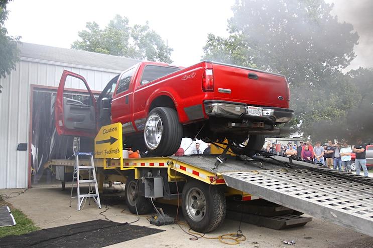 Scheid Diesel Extravaganza 2018 Red Ford F250