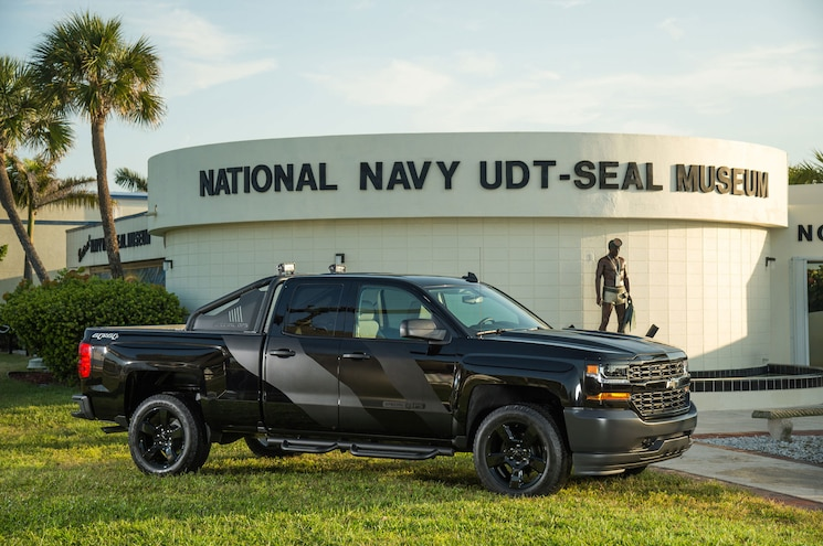 Chevrolet To Donate Portion of Special Ops Silverado Sales to Navy SEAL Museum